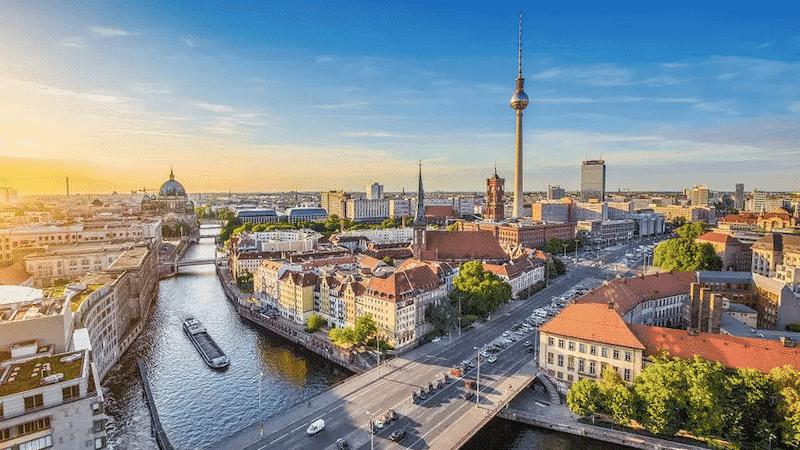 Paisagem da cidade de Berlim