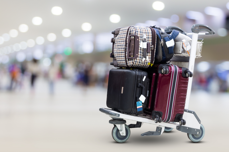 Bagagem no aeroporto