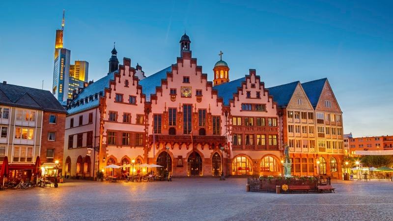 Onde comprar euros mais baratos para Frankfurt