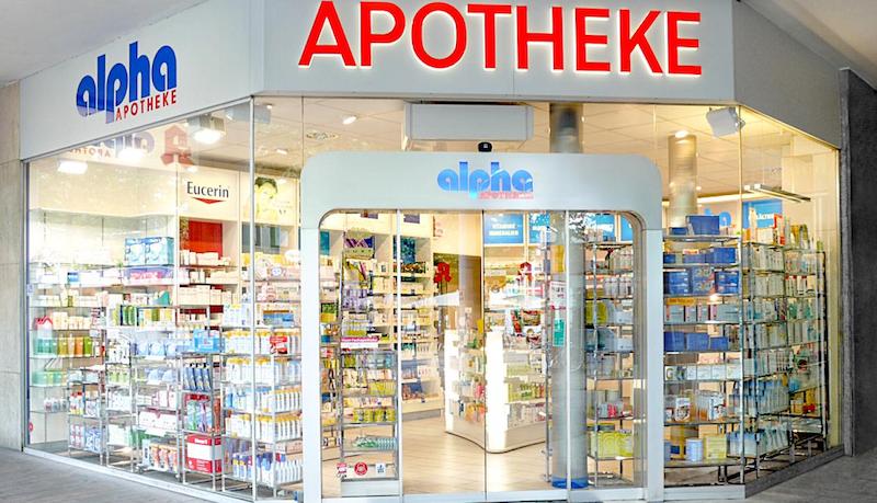 Farmácia em Berlim